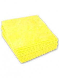 photo of Huishouddoekje 40 cm x 38cm geel