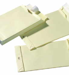 photo of Envelop Quantore monsterzak 229x324x38mm zelfkl creme 125st