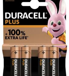 photo of Batterij Duracell Plus 4xAA