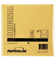 photo of Envelop Papicolor 140x140mm Dottergeel