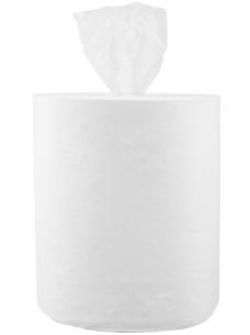 photo of Poetsrol midi Paper2Paper 21cm x275m   1 laag wit