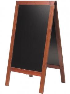 photo of Stoepbord 75cm x 135cm   mahonie