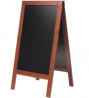 Stoepbord 75cm x 135cm   mahonie   Product image