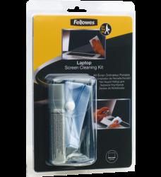photo of Reiniger Fellowes laptop cleaningset flacon en doekje