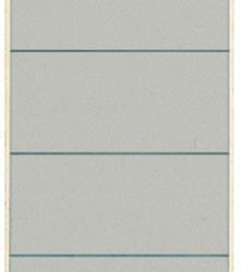 photo of Rugetiket Leitz breed/kort 62x192mm zelfklevend grijs