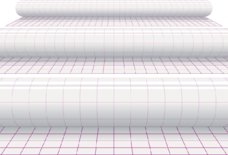 photo of Kaftplastic Boeklon 50cmx1m zelfklevend  transparant