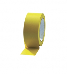 photo of Pvc tape 50mm x 66m geel onbedrukt