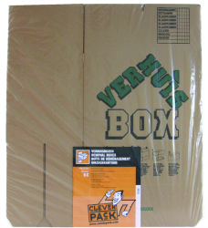 photo of Verhuisdoos CleverPack bedrukt 480x320x360mm 25stuks