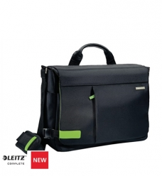"photo of Laptoptas Leitz Smart Traveller 15.6"" zwart"