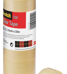 photo of Plakband Scotch 508 15mmx10m transparant
