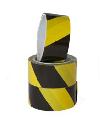 photo of Vloermarkeringstape Budget zwart/geel 50mmx33m