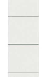 photo of Rug-insteekkaart Leitz smal 32x191mm grijs