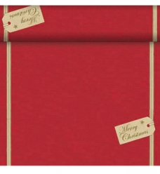 photo of Tafellopers 40cm x 2400cm rood  Christmas gift