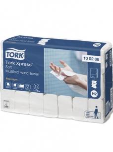 photo of Handdoekjes H2 premium 34cm x23cm tork H2 100288 Intervouw 2 lagen