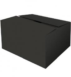 photo of Pakketdoos C 39cm x 29cm x 23.2cm zwart