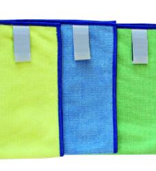 photo of Microvezeldoek professional blauw 38x38cm 10 stuks