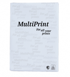 photo of Kopieerpapier Multiprint A4 wit 500vel
