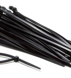 photo of Inbindstrips nylon 4,8x200mm Ø49,5mm zwart