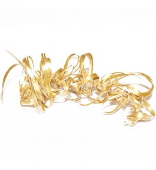 photo of Raffia goud elastisch