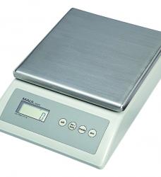 photo of Pakketweger MAUL Count 10kg metalen plateau 17x17.5cm 220V/+ batterij