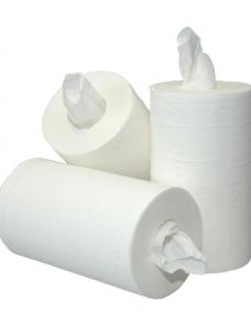 photo of Poetsrol mini Paper2Paper 20.0cm x120m   1 laag wit
