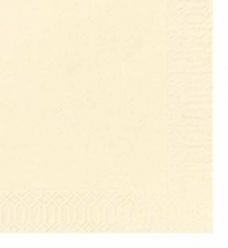 photo of Servet duni 33cm x 33cm buttermilk 2 laags