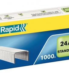 photo of Nieten Rapid 24/6 gegalvaniseerd standaard 1000 stuks