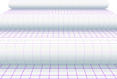 photo of Kaftplastic Boeklon 33cmx5m zelfklevend  transparant