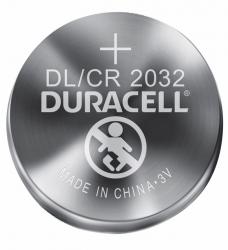 photo of Batterij Duracell knoopcel 2xCR2032 lithium Ø20mm 3V-180mAh