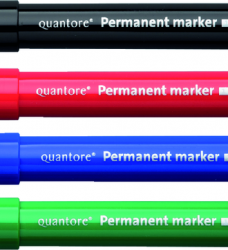 photo of Permanent marker Quantore rond 1-1.5mm zwart