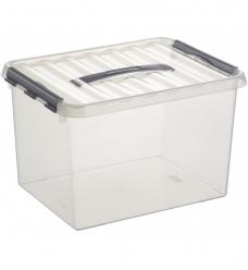 photo of Box Sunware Q line 22 ltr 40cm x 30cm x 26cm transparant