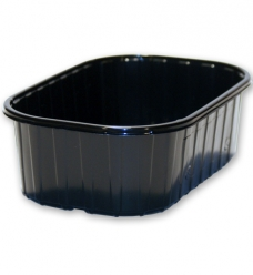 photo of Fruitbak 9.5cm x 14.3cm  x 4.5cm  250gr zwart