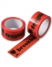 photo of  tape 50mm x 66m oranje breekbaar