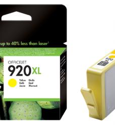 photo of Inktcartridge HP CD974AE 920XL geel HC