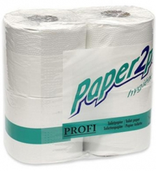photo of Toiletpapier Paper2Paper  9.5cm x43.2m 2 laags wit