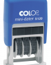 photo of Datumstempel Colop S120 mini-dater 4mm