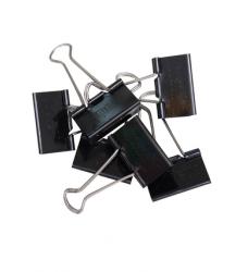 photo of Papierklem MAUL 215 foldback 41mm capaciteit 19mm zwart