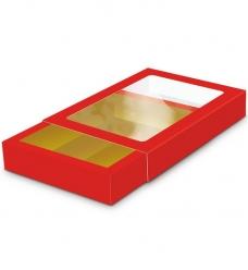 photo of Goudkarton GK7 14cm x 19.5cm x 3.5cm rood