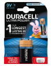 photo of Batterij Duracell Ultra Power 9Volt MX1604