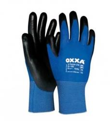 photo of Werkhandschoenen OXXA X-treme-lite Pu coating 9/L blauw/zwart