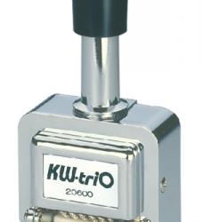 photo of Numeroteur kw-trio 206 met 6 cijfers