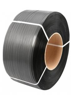 photo of P.p. omsnoeringsband 12mm x 3000m  x 20cm 0.55mm zwart