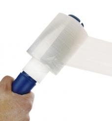 photo of LLDPE stretchfolie 10cm x 150m 20µm transparant