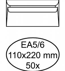 photo of Envelop Quantore excellent bank EA5/6 110x220 120gr wit