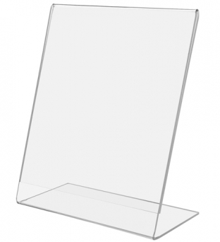 Prijskaarthouder 21cm x 29.7cm A4 L-model acryl Product image
