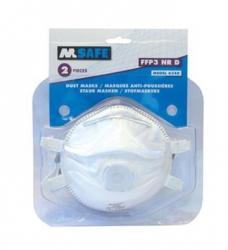 photo of Stofmaskers M-safe FFP3 nr D 6340, ventiel