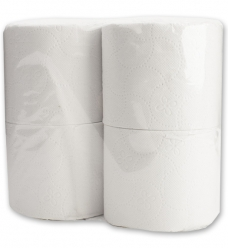 photo of Toiletpapier Paper2Paper  9.5cm x27.5m 3 laags wit