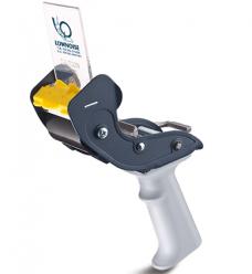 photo of Tape dispencer dozensluiter low-noise met mesbescherm kap