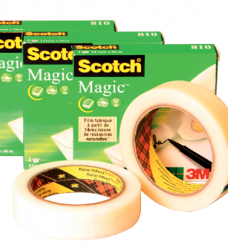 photo of Plakband Scotch Magic 810 12mmx33m onzichtbaar mat