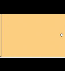 photo of Monsterzak 5 x 16 x 34.5 cm bruin gevoerd 70grms natronkraft